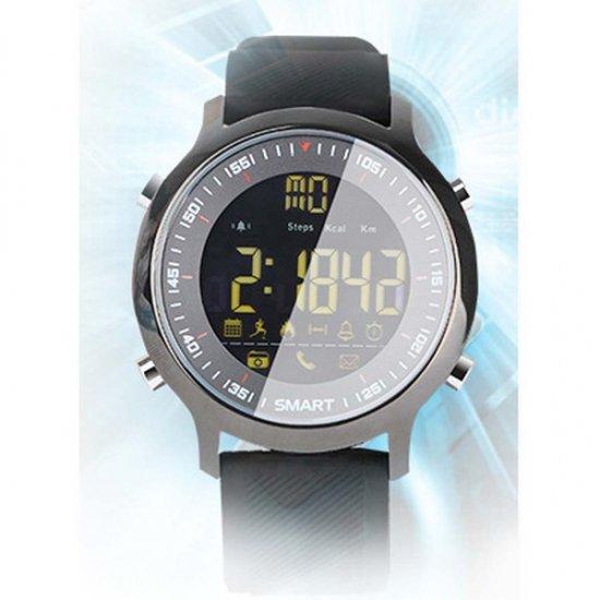スマートウォッチ EX18 スポーツ/運動ウォッチ 防水 長時間バッテリー Bluetooth 歩数、距離、カロリー消耗 多機能腕…