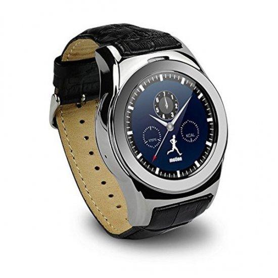 スマート ウォッチLW01 Bluetooh4.0 皮のバンド 心拍測定/歩数計/遠隔写真撮り/など多機能腕時計