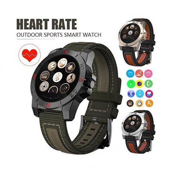 スポーツ/運動ウォッチ N10B 温度計 高度計 気圧計 歩数 登山/山登り コンパス 防水 アウトドア 腕時計