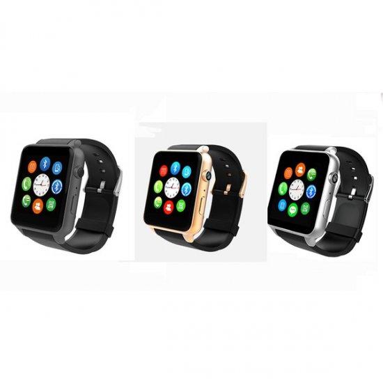 スマート ウォッチ Smart Watch GT88 Bluetooth接続 Android搭載 四角形 歩数/カロリー/防水 腕時計