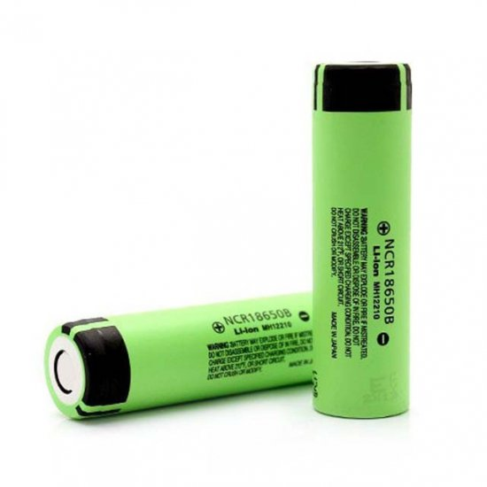 18650 リチウムイオン電池 Panasonic パナソニック NCR 3400mAh バッテリー