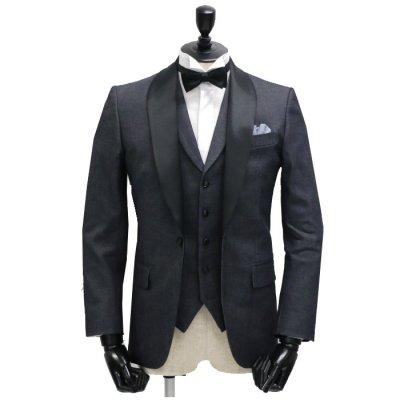 《追加オプション》タキシード仕様(ベスト付) ※デニムスーツと一緒にご購入ください。