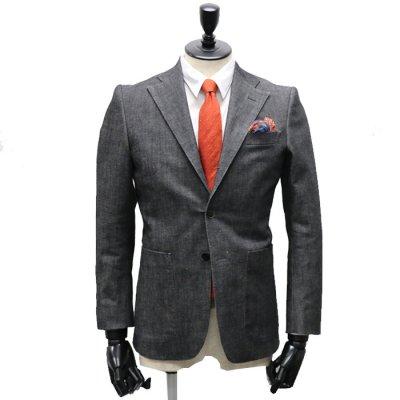 デニムスーツ<br>【RAGO】(BLACK・ブラック)スーツ<br>11oz 2WAYストレッチデニム使用