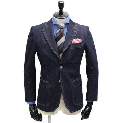 デニムスーツ<br>【AMIRA】(NAVY)スーツ<br>13oz(11ozも選択可) セルヴィッチストレッチデニム使用
