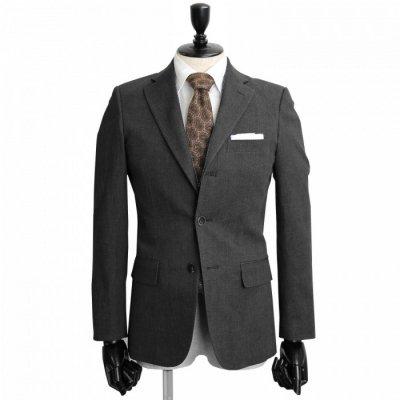 デニムスーツ<br>【KORAKU】(BLACK・ブラック・黒)スーツ