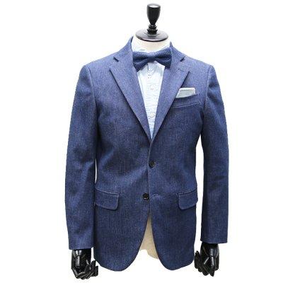 【TENAL】本藍デニムスーツ(NAVY・ネイビー/紺)スーツ<br>10oz