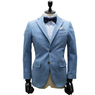 【TENAL】本藍デニムスーツ(BLUE・ブルー/青)スーツ<br>10oz
