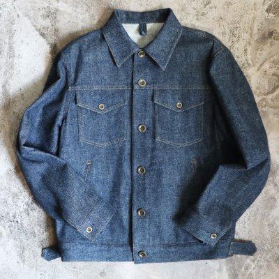 【Jeans Jacket】ジーンズジャケット ジージャン Gジャン オーダーデニムジャケット