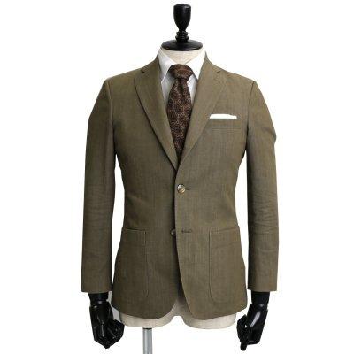 デニムスーツ<br>【KORAKU】(KHAKI・カーキ)スーツ