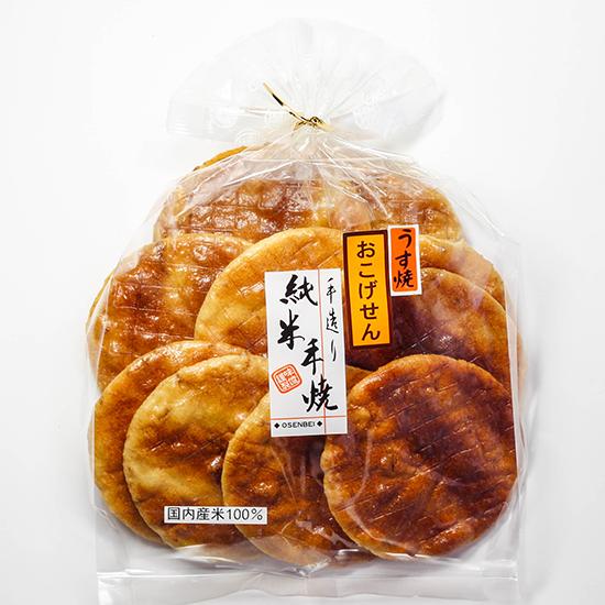 純薄焼 おこげ醤油味 9枚(一枚包装)