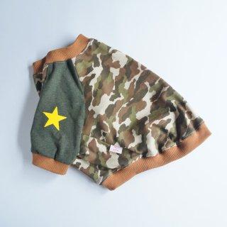 【セミオーダー】カモフラTシャツ グリーン