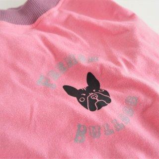 【完成品・即発送】龍ちゃんプリントのタンクトップ ピンク