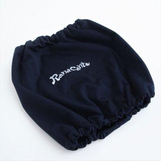 Ranacante/レインスヌード/ディープネイビー/ロゴプリント