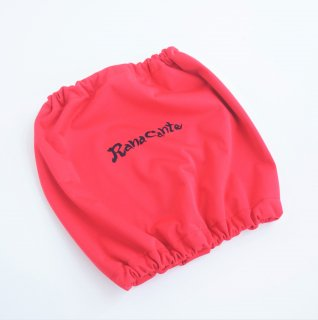 Ranacante/レインスヌード/チェリーレッド/ロゴのみプリント