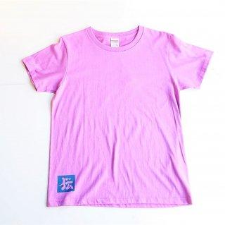 伝七プリントのTシャツ カラー:ラベンダー