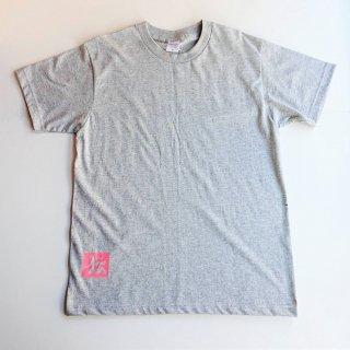 伝七プリントのTシャツ カラー:グレー