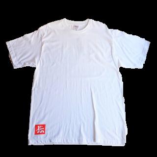 伝七プリントのTシャツ カラー:ホワイト