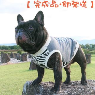【完成品・即発送】タンクトップ/JUNBULL/モノトーン/グレー/伝七プリント