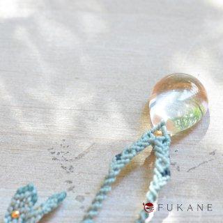 【一点もの】マクラメペンダント/水晶(ブラジル産)