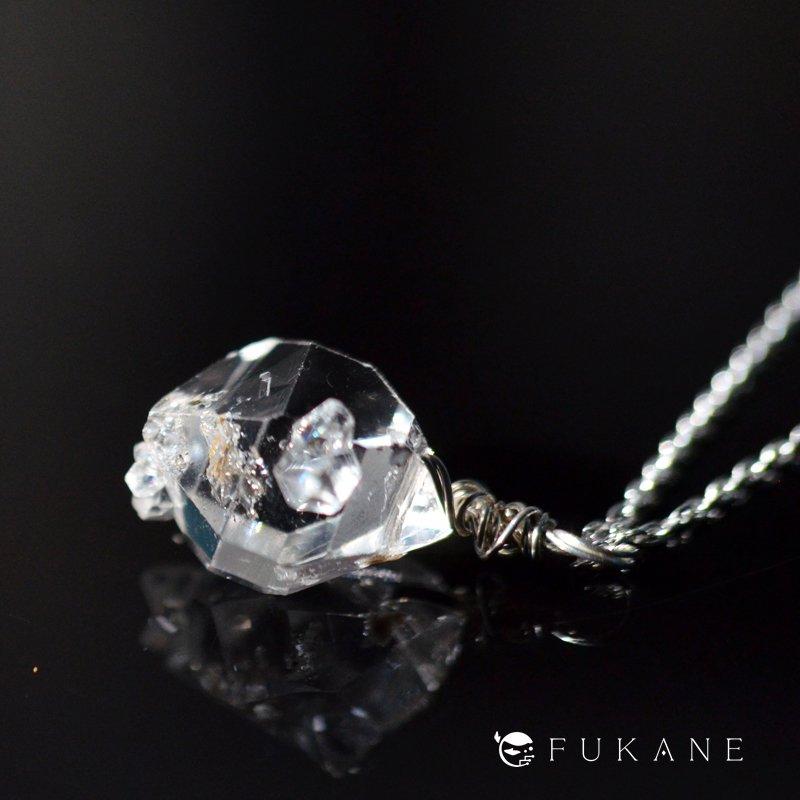 【S様専用】ハーキマーダイヤモンド/SV925ペンダント−2