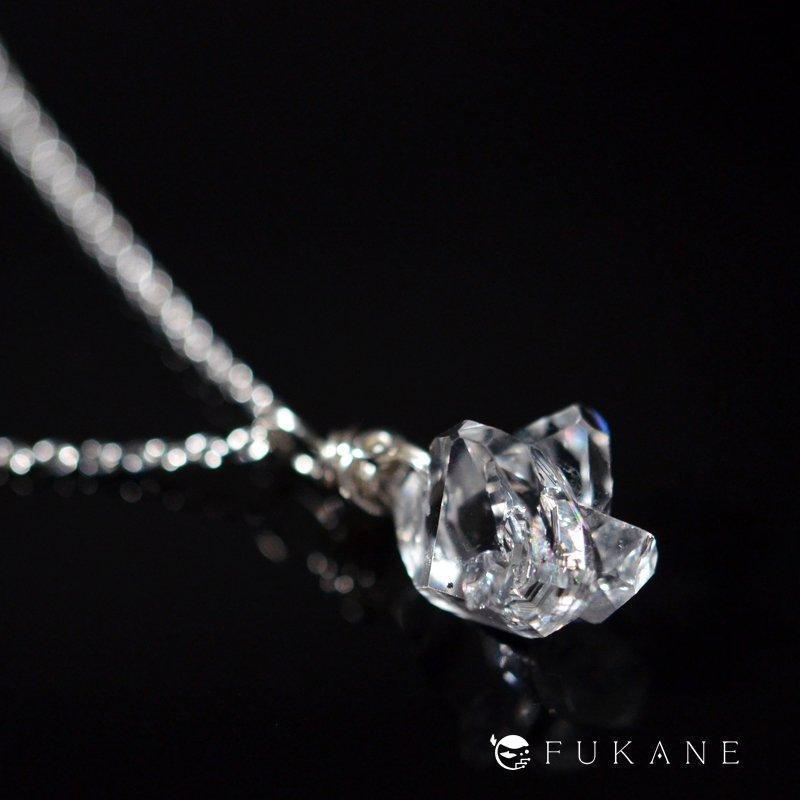 ハーキマーダイヤモンド/SV925ペンダント−4