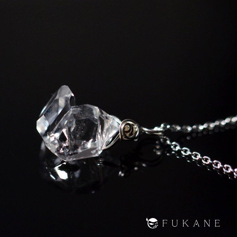 ハーキマーダイヤモンド/SV925ペンダント−5