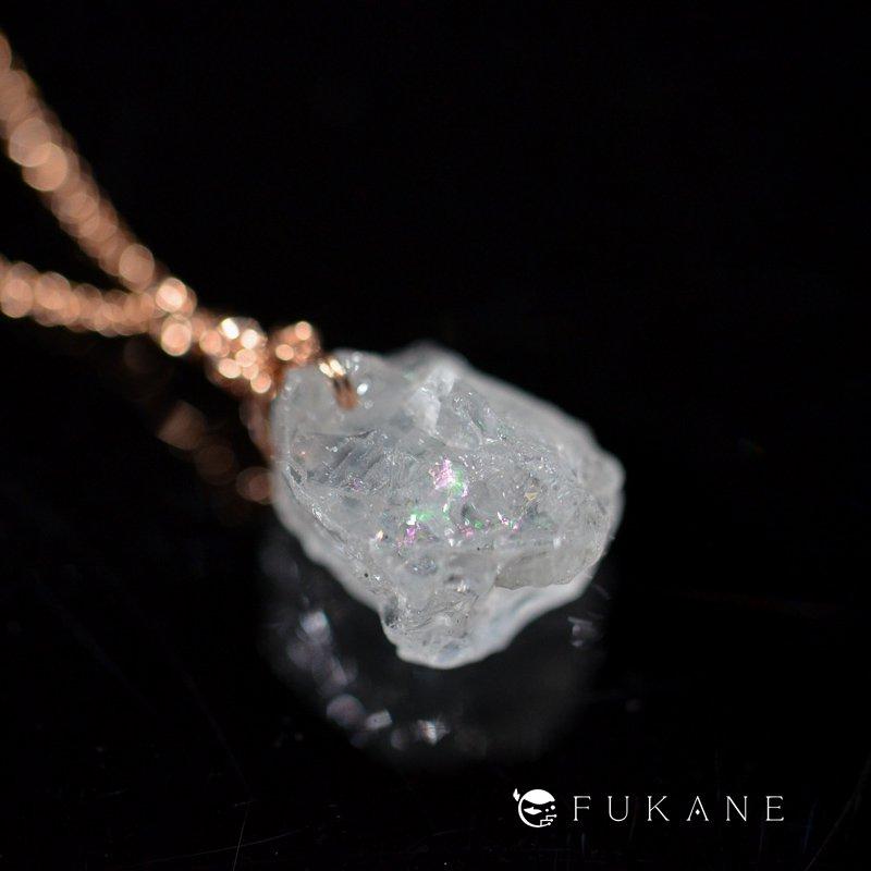 ゴシェナイト(ナイジェリア産)/鉱物ペンダント14KPGF