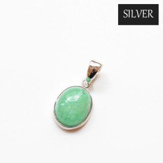 【SILVER】国産加工ペンダントトップ/エメラルドAAA(インド産)