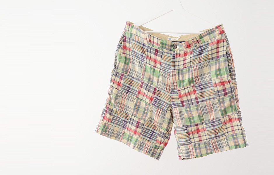 J.Crew ヴィンテージ パッチワーク マドラスチェック ショーツ 00年代 Vintage Patchwork Madras Check Shorts