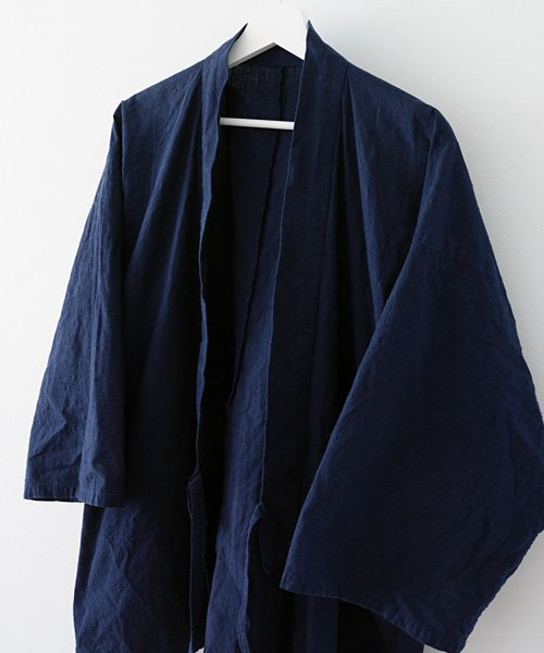 作務衣 藍染 木綿 メンズ ジャパン | Samue Indigo Aizome Men's