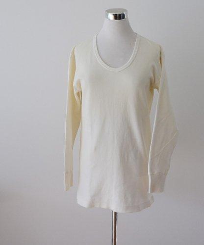 UネックTシャツ ジャパン ヴィンテージ 60年代 アンダーウェア | Japanese Vintage 60s Underwear U Neck T-Shirt