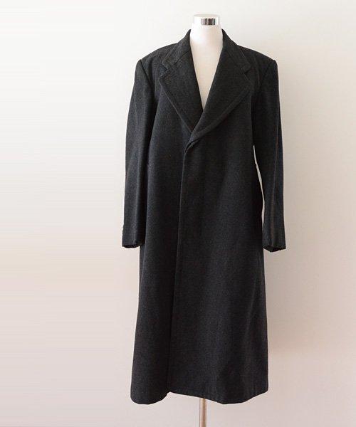 ビスポーク コート ジャパンヴィンテージ 40〜50年代 個人オーダー | Japanese Vintage 40〜50s Wool Bespoke Coat Order Made