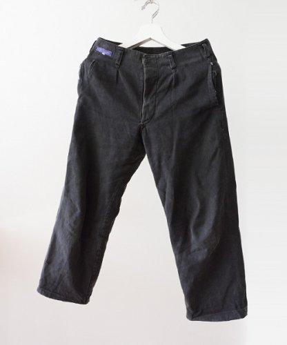 ワークパンツ ジャパンヴィンテージ 30年代 黒 タック Wフェイス | Japanese Vintage 30s Black Work Pants