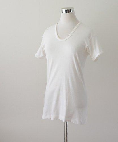 無地 Tシャツ ジャパンヴィンテージ グンゼ 80年代 白 コットン | Japanese Vintage Solid Color T-Shirt Gunze 80s