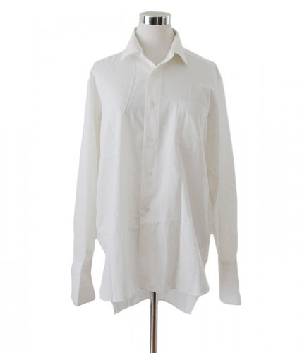 カフス シャツ マチ付き ジャパンヴィンテージ 50〜60年代 白