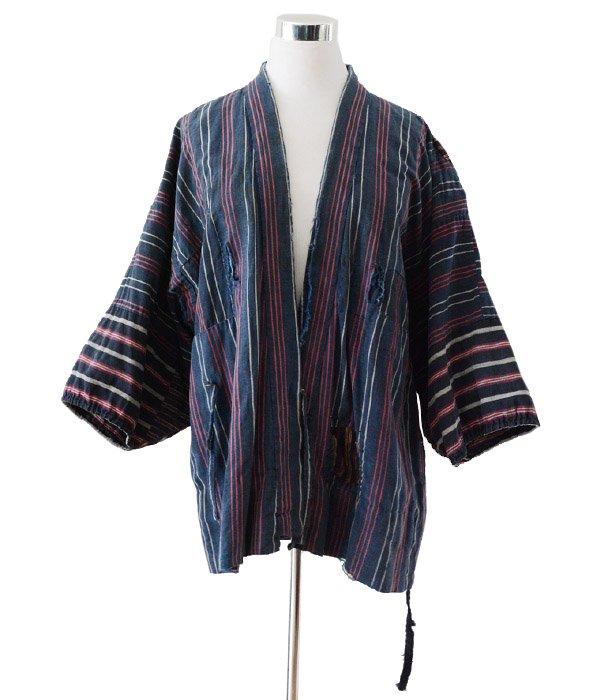 野良着 藍染 襤褸 上っ張り 着物 ジャパンヴィンテージ 40〜50年代 | Noragi Jacket Japanese Boro Aizome 40〜50s Vintage Kimono