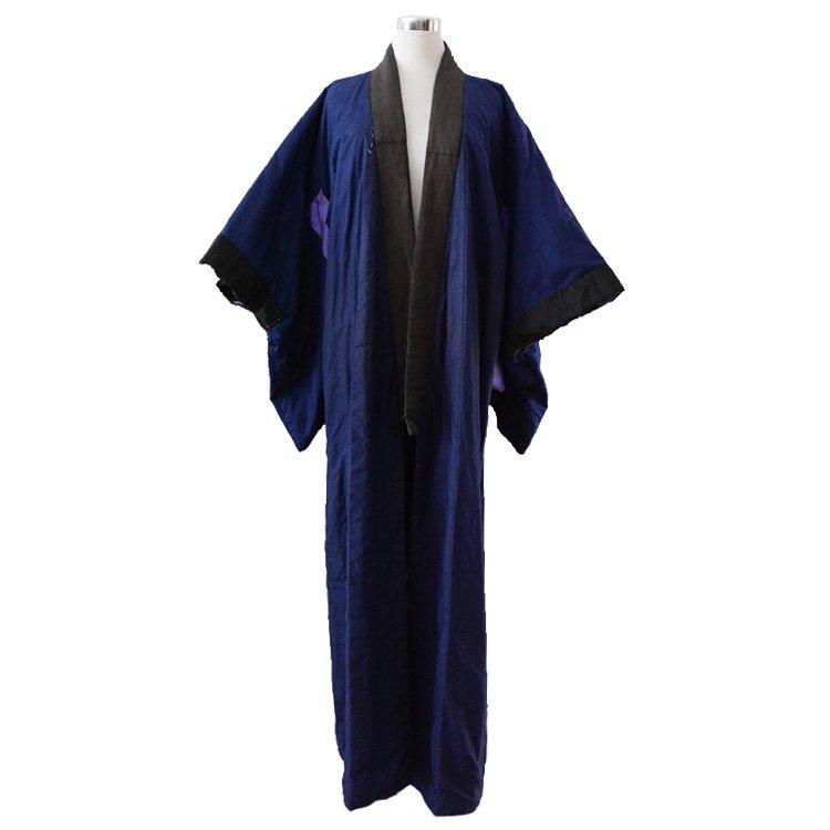 丹前 綿入れ ジャパンヴィンテージ 60年代 着物 長着 褞袍 | Tanzen Hanten Coat Warm Padded Japan Vintage 60s Kimono