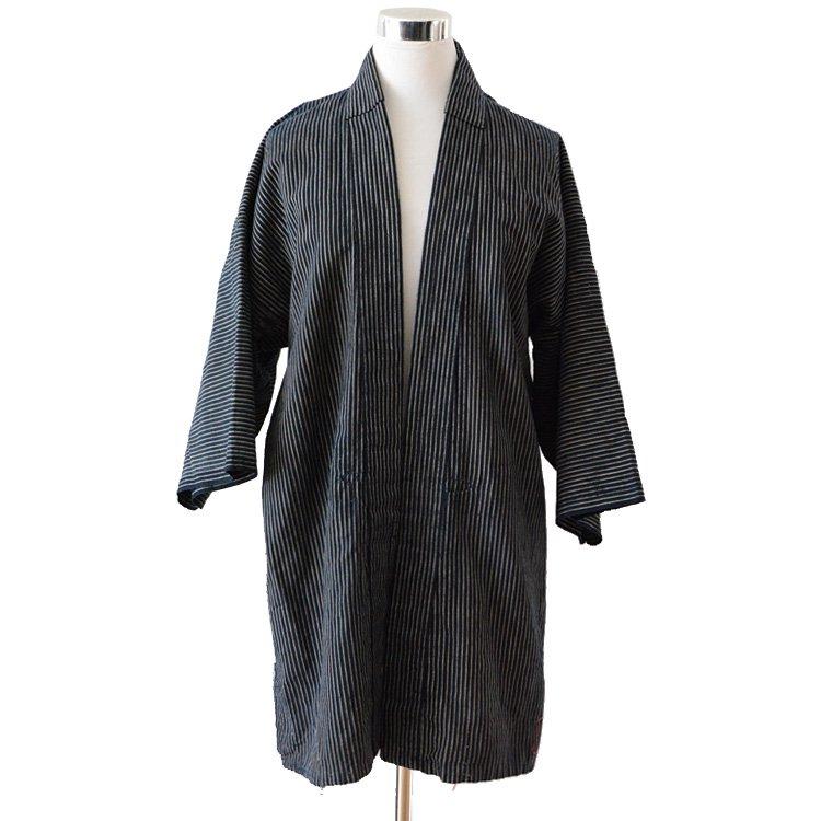 野良着 古着 藍染 襤褸 継ぎ接ぎ ジャパンヴィンテージ 30年代 | Noragi Men Jacket Indigo Aizome Japanese Boro Repair 30s Vintage