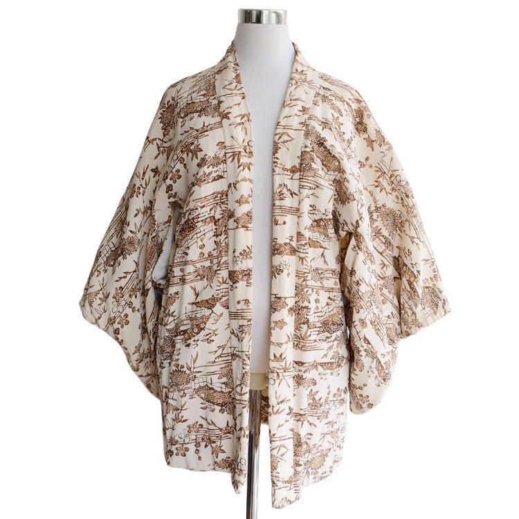 羽織 着物 ジャケット ジャパンヴィンテージ 60年代 紐付 | Haori Jacket Japan Vintage 60s Antique Kimono
