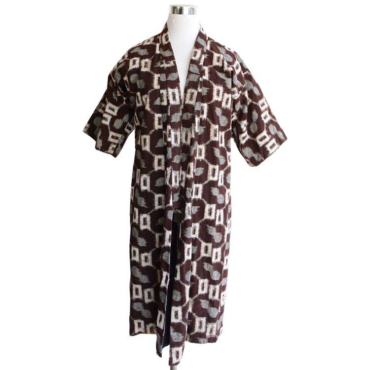 絣 着物 刺し子 リペア 子供用 ジャパンヴィンテージ 30年代 | Kasuri Kimono Sashiko Repair Japan Vintage 30s