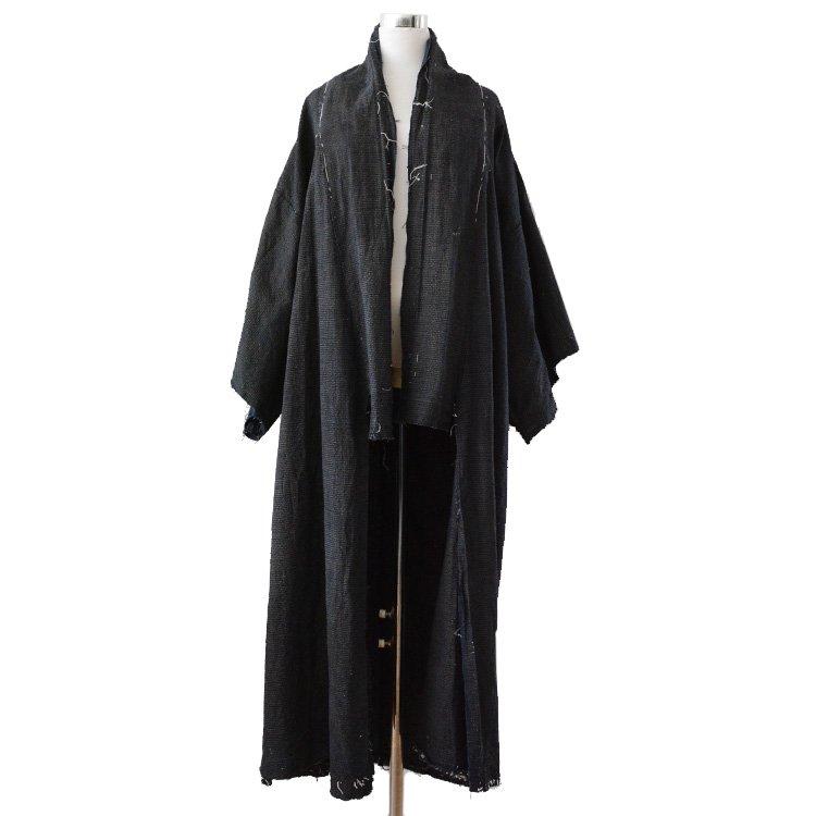 藍染 着物 襤褸 ほどき ジャパンヴィンテージ 30年代 切りっ放し | Indigo Kimono Coat Japanese Boro Unravel 30s Vintage