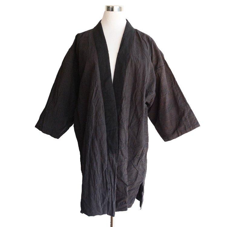 野良着 古着 着物 ジャケット ジャパンヴィンテージ 30年代   Noragi Jacket Stripe Kimono Japan Vintage 30s