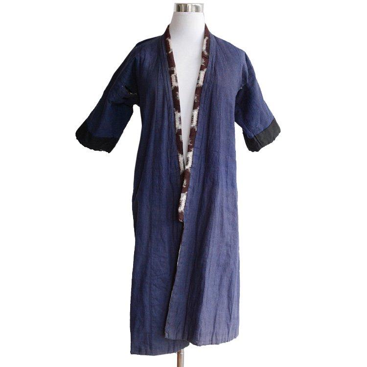 綿入れ 着物 絣 子供用 ジャパンヴィンテージ 30年代   Hanten Padded Kimono Jacket Kasuri Japan Vintage 30s