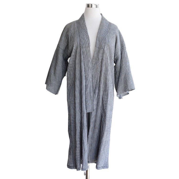 <img class='new_mark_img1' src='https://img.shop-pro.jp/img/new/icons8.gif' style='border:none;display:inline;margin:0px;padding:0px;width:auto;' />野良着 羽織風 リメイク 着物 ジャパンヴィンテージ 50〜60年代   Noragi Haori Remake Kimono Jacket Japan Vintage 50〜60s 【REN】