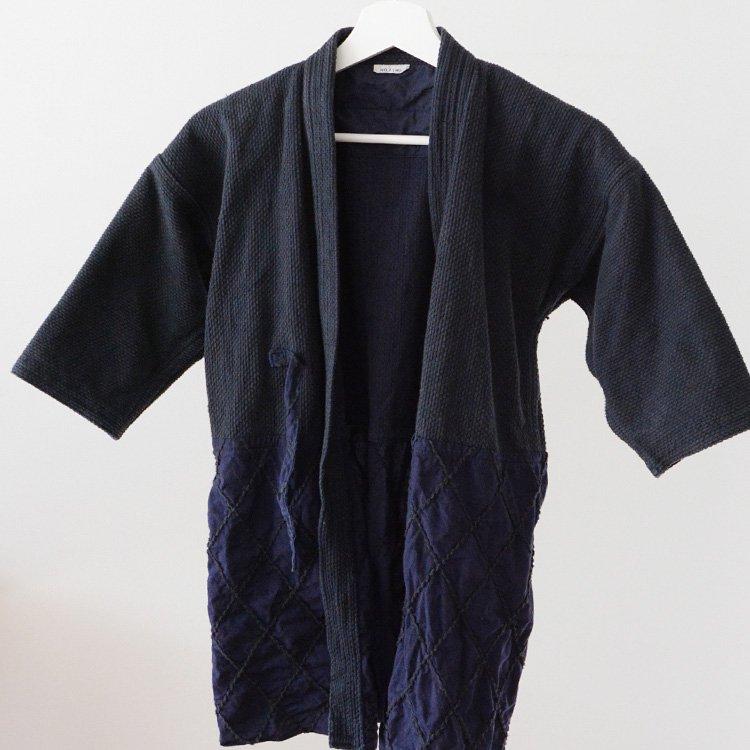 剣道着 刺し子 ジャケット 綾刺し 切替 ジャパンヴィンテージ | Kendo Gi Sashiko Jacket Made in Japan Vintage