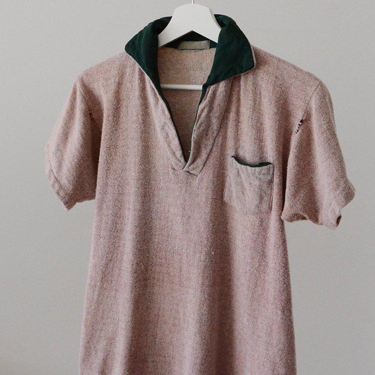 Skipper Shirt Pile Polo Japan Vintage 60s | パイルシャツ スキッパー ジャパンヴィンテージ 60年代