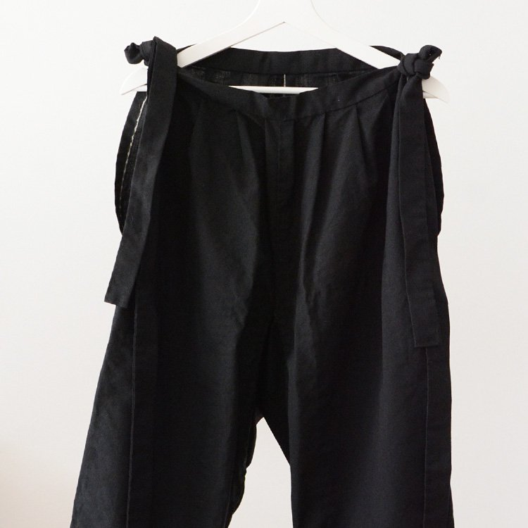 Monpe Pants Black Japan Vintage before The War | モンペ パンツ 黒 ジャパンヴィンテージ 戦前