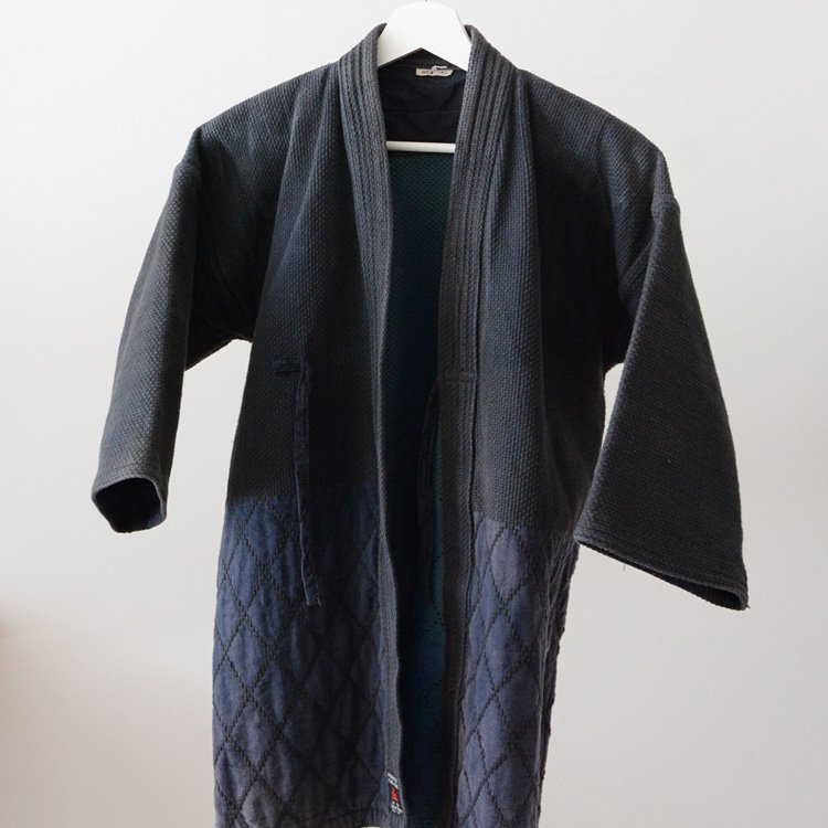 Kendogi Sashiko Jacket Made in Japan Vintage Mitsuboshi   剣道着 刺し子 ジャケット ジャパンヴィンテージ 三星