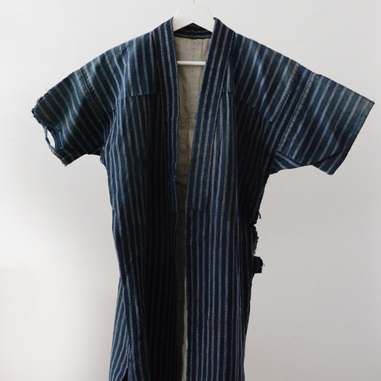 Noragi Vintage Boro Indigo Kimono Jacket Japanese Antique | 野良着 藍染 古着 襤褸 ジャパンヴィンテージ 大正 昭和