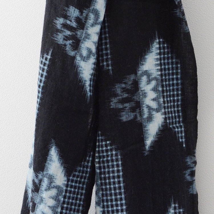 Kasuri Fabric Japan Vintage Textiles Arrow Flower Kofu | 絣 古布 矢 花 ジャパンヴィンテージ